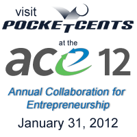 PocketCents Local Online Advertising services showcased at ACE'12.