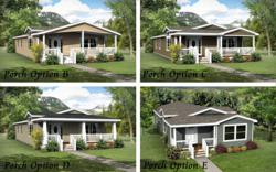 4 Different Porch Options