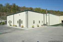 Olympia Steel Buildings Showroom and Warehouse