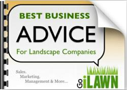 Best Advice for Landscape Companies Book Cover
