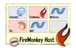 Delphi FireMonkey Host Application