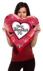 Valentine's Day Balloon Gift