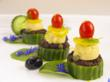 Almond Cheese Canape