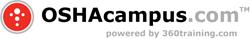 oshacampus.com, powerered by 360training.com