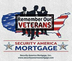Remeber Our Veterans United States VA Home Loan