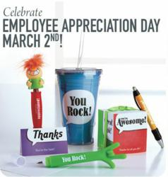 Visit Baudville for Employee Appreciation Day gifts and tips.