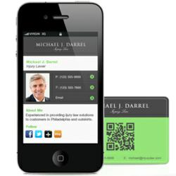 Sitomic launches free mobile business cards colourmoves