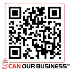 QRcode with Scan Our Business trademark