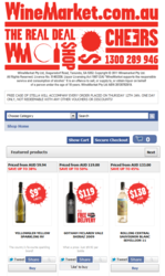 Wine Market VendorShop facebook store - $50,000 in sales in 10 weeks