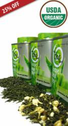 Organic Green Tea Set