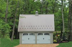 lancaster pa prefab 2 car garage and 2 story garage gears up for