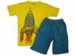 Rocket Boost Tee & Short by Charle Rocket for Blueturtlekids.com