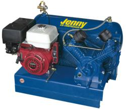 Jenny Products Skid-Mounted Compressor