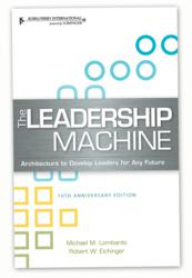 The Leadership Machine Cover Design