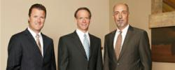 Robert Allard, Brad Corsiglia and Timothy McMahon