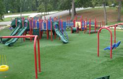 Playground Surfacing Material
