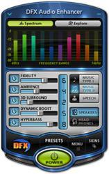 DFX MP3 Audio Enhancer YouTube Pandora Spotify iTunes