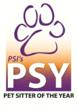 Pet Sitter of the Year™ logo