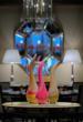 Fountain Restaurant Bernard Katz Glass sculpture - Salinas Trio
