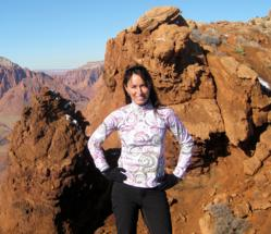 Melanie Webb is a Utah fitness coach and adventure guide