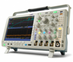 The Sixclear tutorial uses the Tektronix MDO4000 Scope controlled by LabVIEW