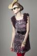 Chiffon,Leopard,Dress