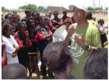 Russell Simmons in Africa Educating the Children