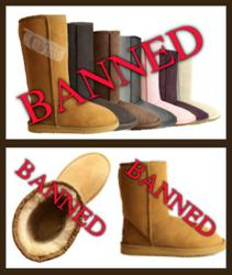 Ugg Boots Banned
