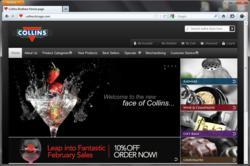Collins Brothers website