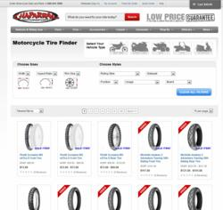 Chaparral Motorsports Features a new finder for motorcycle tires