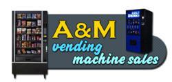 A&M Vending Machine Sales Logo