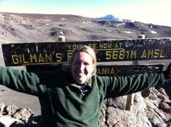 A Summit, NJ woman takes her obesity battle uphill, to Mt. Kilimanjaro