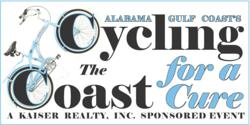 "The date for the 6th Annual Kaiser Realty, Inc.'s ""Cycling the Coast for a Cure"" has been set for April 14th, 2012"
