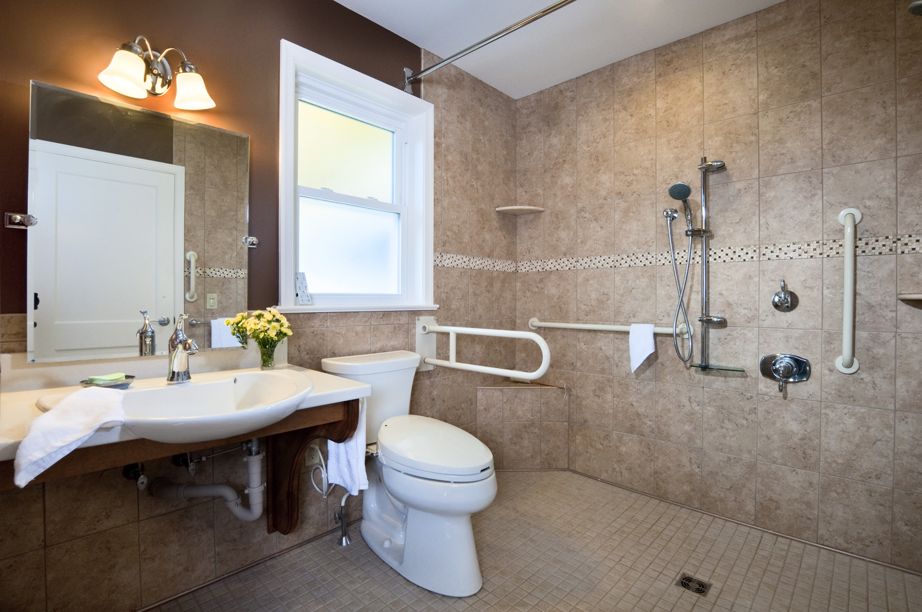 Custom craft contractors honored with local and regional for Custom bathrooms