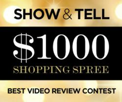 Show & Tell Best Video Review Contest