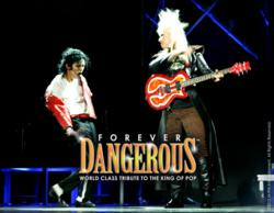 Forever Dangerous - Michael Jackson guitarist Jennifer Batten and Jackson impersonator Carlo Riley