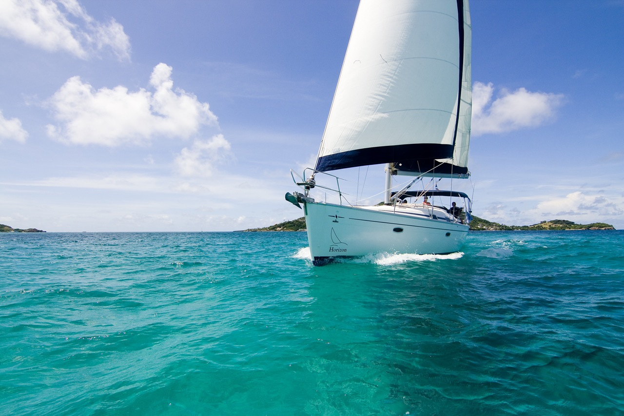 Sailing from british virgin islands