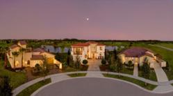 BUILDER Concept Home 2012 panoramic view of three featured homes. C. 2011 James F. Wilson/Courtesy BUILDER magazine