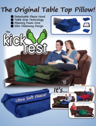 foot pillow, footrest, kickrest, cold feet, blood flow
