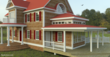 This House was rendered with Raylectron v2 sketchup render without any editing by other graphic software.
