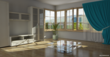 This living room was rendered with Raylectron without any editing by other graphic software.