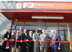 F3 Engineering Ribbon Cutting