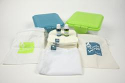 Cheeky Wipes Washable Cotton Cloth Baby Wipes Kit