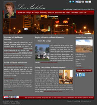 Website for Rochester MN Realtor Lori Mickelson
