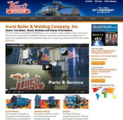 New Hurst Boiler Website - www.hurstboiler.com
