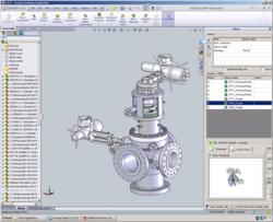 Adept product data management for SolidWorks
