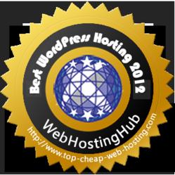 Best WordPress Hosting 2012 Award