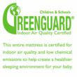 Greenguard certification for indoor air quality