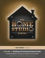 "Free guide to ""Building a Professional Home Studio"" now available from Disc Makers CD & DVD Manufacturing"