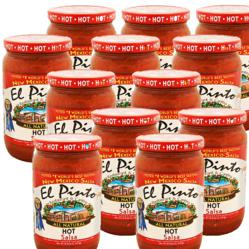 El Pinto Salsa is available with $5.95 flat rate shipping at www.elpinto.com until 2/14/2012 for orders of 6 or more jars.